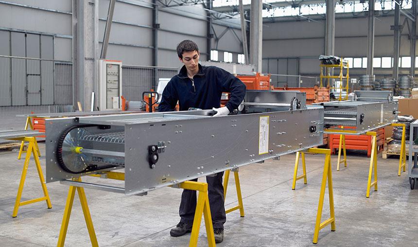 montaggio carpenteria metallica